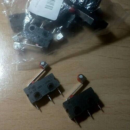 10Pcs Micro Limit Switch Roller Lever 5A 125V Open Close