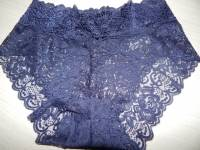 Lace Transprent Mid Waist Cotton Comfy Breathable Panties
