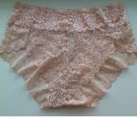 Sexy Lace Mid Waist Cotton Comfy Breathable Panties