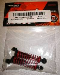 SUBOTECH 1/24 CJ0013 Front Shock Absorber For BG1510ABCD Car Parts