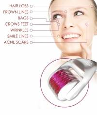 Y.F.M® Therapy Derma Needling Roller Skin Care Whitening Anti Wrinkles Acne Scars