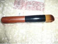 Wood Handle Makeup Foundation Powder Flawless Brushes