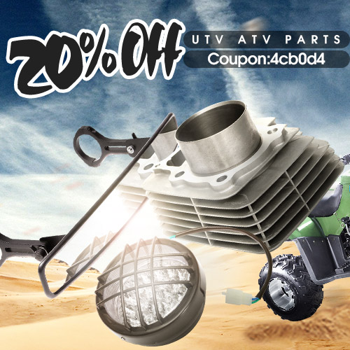 Extra 20% off for UTV ATV Parts