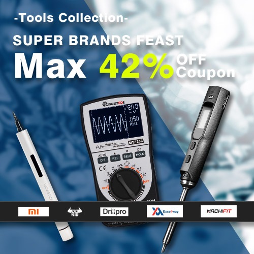 Tools Brands Feast&Max 42% OFF Coupon
