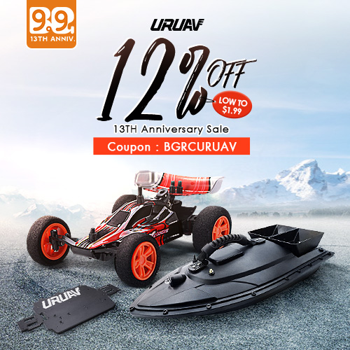 URUAV Brand Deals on 13TH Anniversary Sale