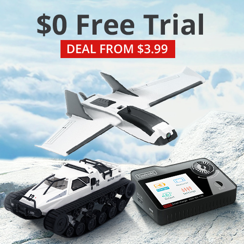 Banggood RC Toys New Arrivals $0 Free Trial