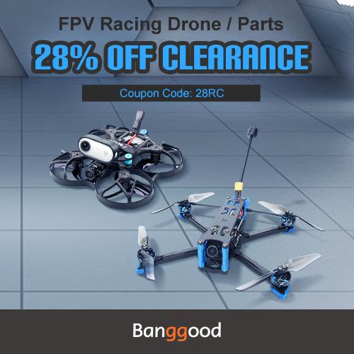 marketing FPV Racing Drone Multirotors Clearance