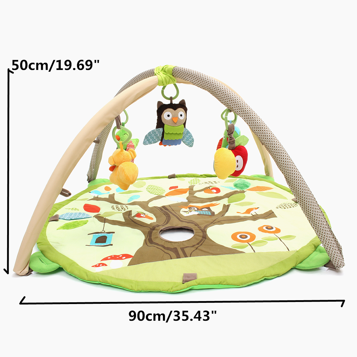 Newborn Infant Baby Kids Children Toys Treetop Activity Gym Playmat Play Mat