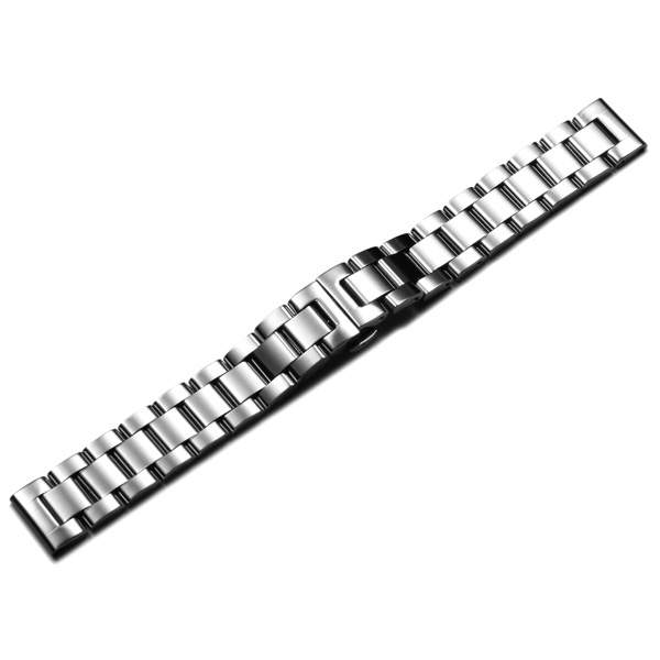 18mm Stainless Steel Men Women Wrist Watch Band
