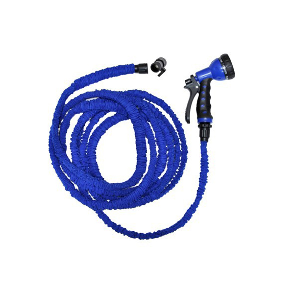 1PC 7.5m Flexible Garden Car Water Hose and Water Pipe Nozzle