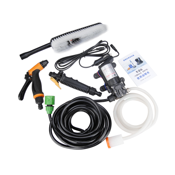 12V High Pressure Electric Water Pump Car Wash Machine Sprayer with Cigarette Lighter