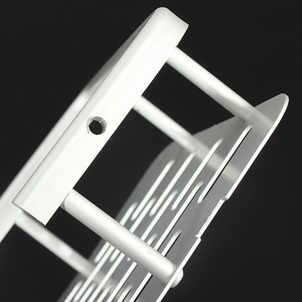 Alumimum Wall Mounted Storage Shelf Bathroom Sundries Rack