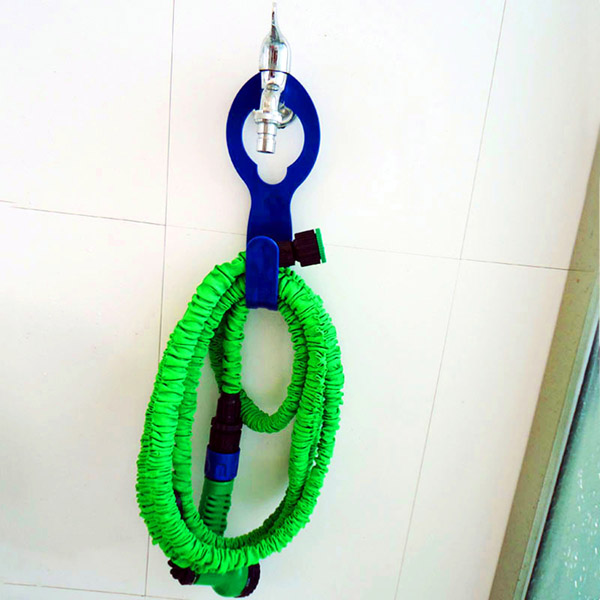 Garden Expandable Hose Holder Wall Mounted Water Pipe Tap Organizer