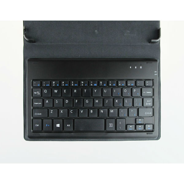 Folding bluetooth PU Leather Keyboard Case For PIPO W2F