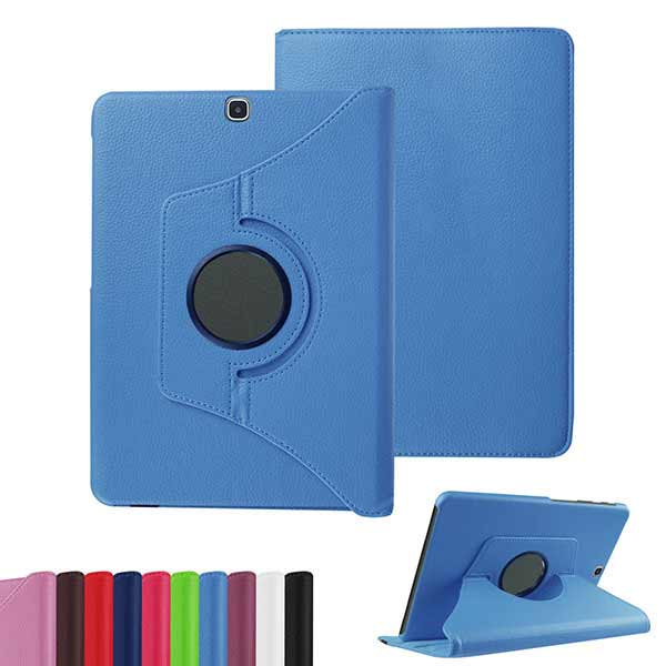 Litchi Grain 360 Degree Rotating PU Leather Case For 9.7 Inch Samsung Tab S2 T815