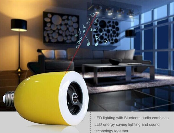 Wireless bluetooth Speaker Audio Lamp LED Light