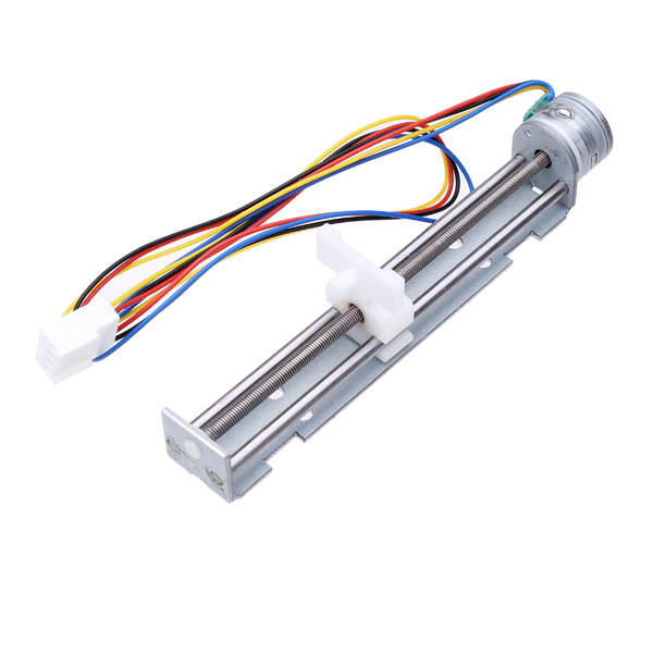 dc 4-9v drive stepper motor screw with nut slider 2 phase 4 wire