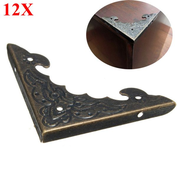 12pcs decorative jewelry gift box picture frame corner protector guard