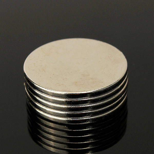 5pcs n50  25*2mm  strong round disc magnets rare earth neodymium magnets