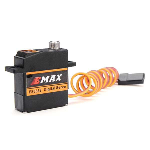 EMAX ES3352 12.4g Mini Metal Gear Digital Servo for RC Airplane