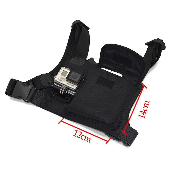 Chest Strap Harness Adjustable Shirt for All Sport Camera Xiaomi SJcam Series EKEN Series