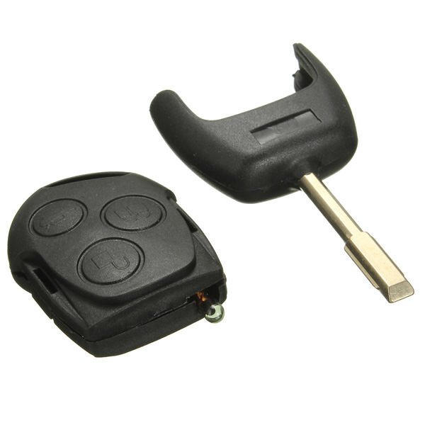 3 Button 433MHZ Remote Entry Key Fob for Ford Mondeo Fiesta Focus