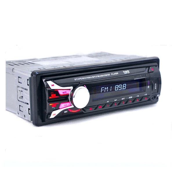 12V bluetooth Car Stereo MP3 FM Radio Removable panel 5V Charger USB/SD/AUX/Car In Dash 1 DIN