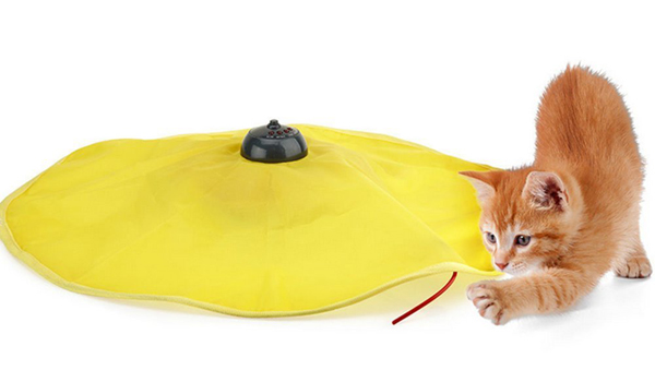 Undercover Mouse Cat's Meow Interactive Electronic Cat Toy