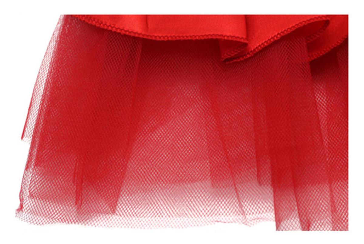 4 Colors Summer Puppy Pet Dog Tutu Lace Satin Skirt Cat Princess Party Wedding Dress