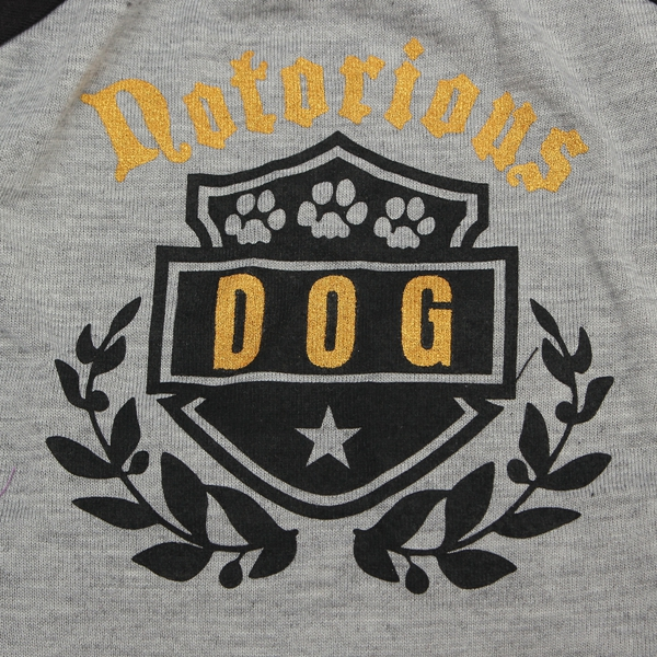Summer Dog Cat Shirt Puppy Cotton Blend T Shirt Clothes Pet Apparel Costume Grey