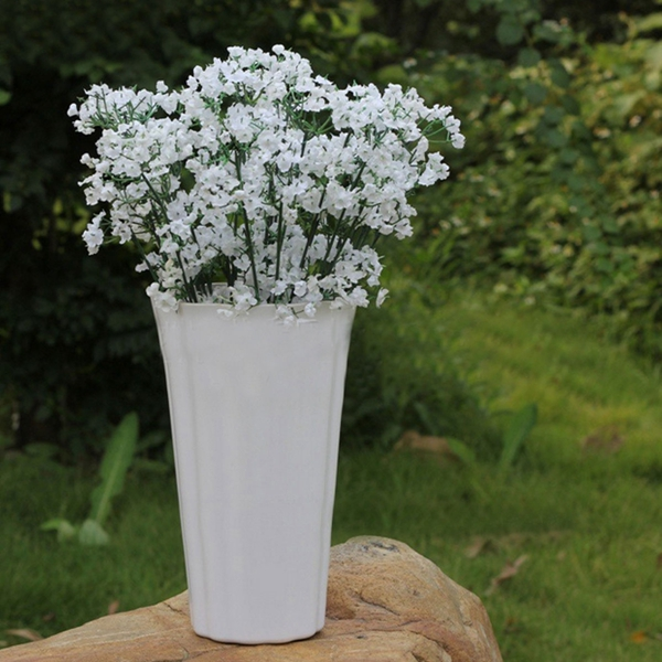 Artificial Plastic Gypsophila Baby's Breath Flower Plants Home Wedding Decor