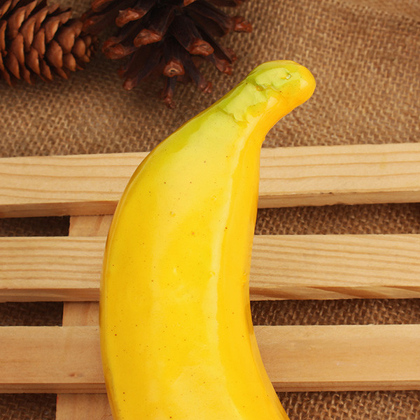 Artificial Banana Plastic Imitated Fruit Home Store Decorative Simulation Decorative Props