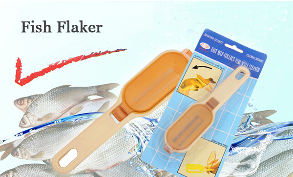 Kitchen Cooking Tools Scraping Scales Fish Device Creative Scraping Scales Brush Device