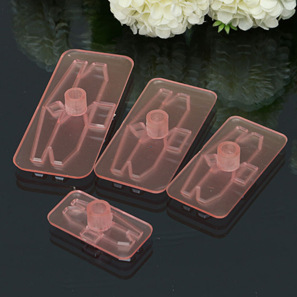4Pcs Plastic Bow Cake Cutter Molds Icing Cookie Biscuit Fondant Embosser Craft