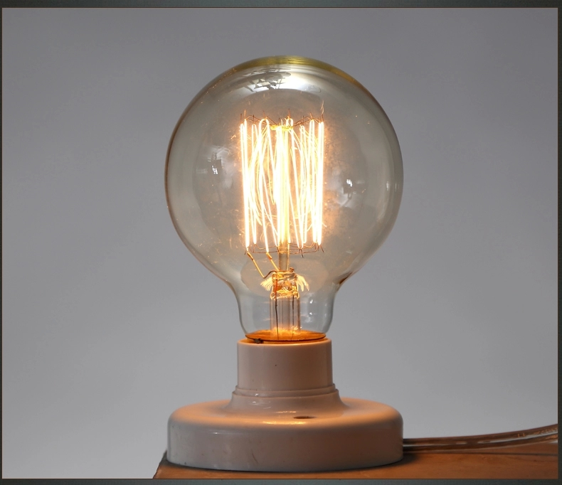 G80 Incandescent Bulb E27 40W 220V Globe Retro Edison Light Bulb