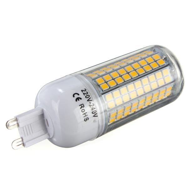 E27 E14 G9 GU10 B22 8W 180 SMD 2835 LED Corn Bulb White Warm White 220V 240V