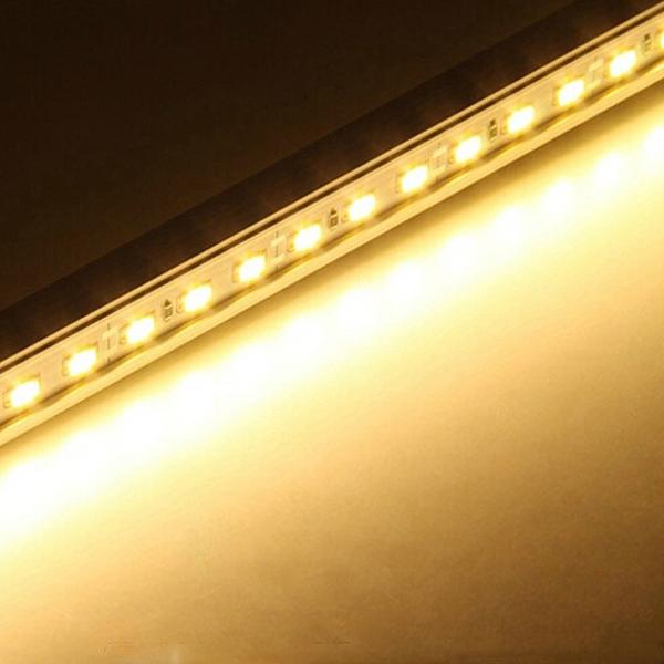LED Rigid Strip Light 50cm 12V 36 SMD 7020 V Shape White