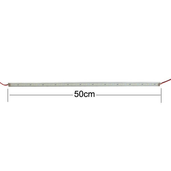 50cm IP68 9W SMD 7020 36LED White LED Rigid Strip Swimming Pool 12V