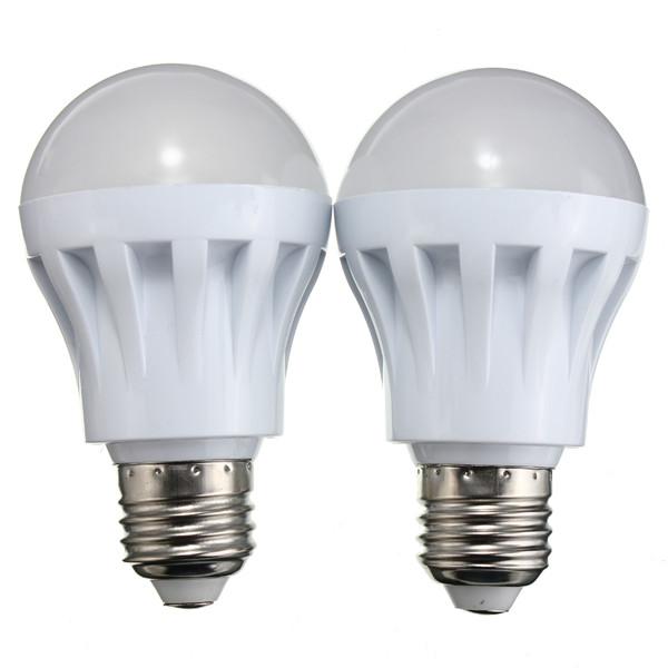E27 5W 400LM 12 SMD 5730 Warm White/White Globe Energy Saving Lamp 12V