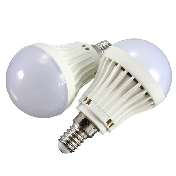 E14 2.2W SMD 2835 White/Warm White LED Bulb Energy Saving Globe Light Lamp AC 220V
