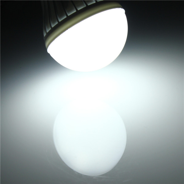 B22 7W 11 SMD 5630 Warm White/White Globe Ball Bulbs Plastic Lamp Lights 220-240V