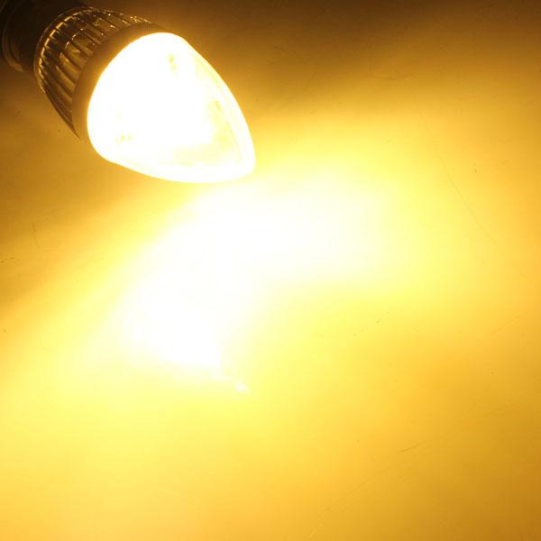 Đèn Led 3W Có Thể Điều Chỉnh Độ Sáng E12 E14 E27 B22