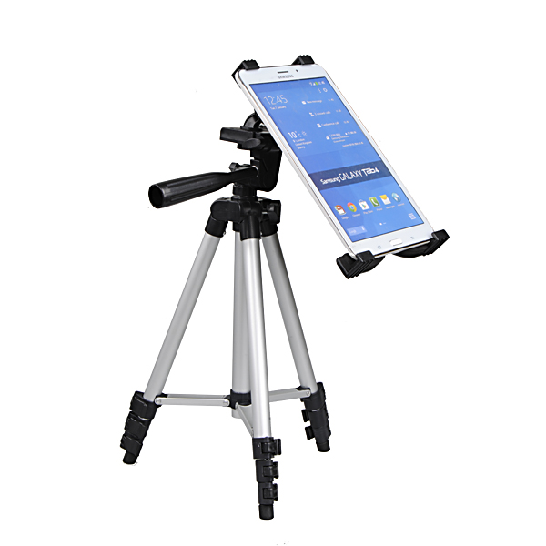 Retractable Tripod Mount Stand For iPad Tablet PC Camer