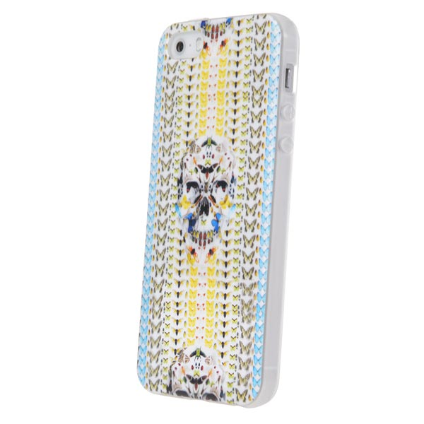 TPU Protection Crossbones Pattern Back Cover Case For iPhone 5 5S