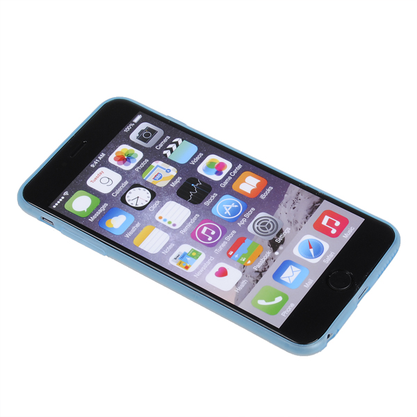 Ultra Thin Luminous TPU PC Double Color Cover Case For iPhone 6 Plus & 6s Plus