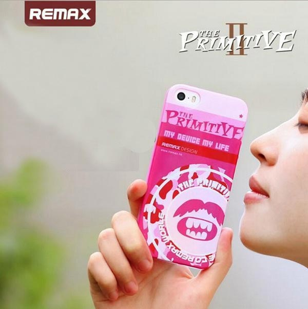 Remax Primitive 2 0.8mm Ultra Thin Soft TPU Case For iPhone 5 5S