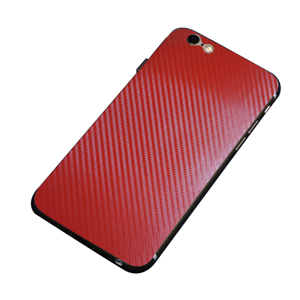 Colorful Full Body 3D Carbon Fiber Sticker For iPhone 6/6s Plus 5.5 Inch