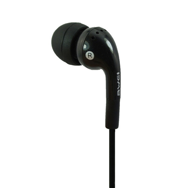 Awei ES-Q9i In-Ear Earbud Noise Isolating Earphone With Mic For iPhone