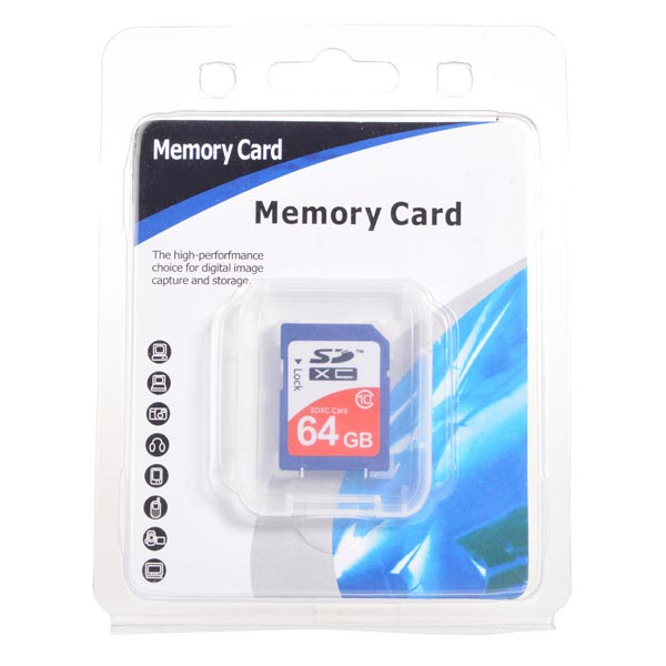 64G SDXC Class 10 SD3.0 SD Memory Card SD Card For Apple Accessories