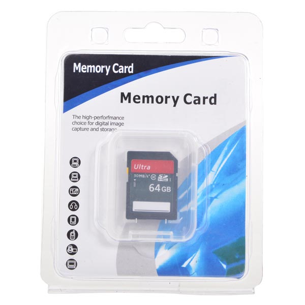 64G Class 10 SD3.0 SD Memory Card SD Card For Apple Accessories
